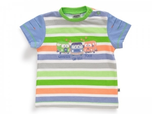 JACKY BABY T-SHIRT CAMPERS PASTELLFARBEN